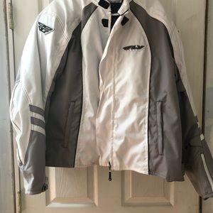 Woman motorcycle jacket